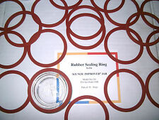 "Rubber Sealing Rings (50 Pack) for Kilner ""Improved"" Preserving Jars from 1948"