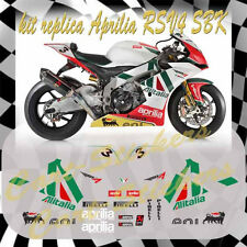 KIT adesivi moto APRILIA RSV4 SUPERBIKE ALITALIA STICKERS decal motogp intagliat