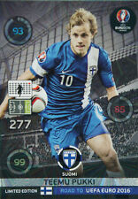 Panini Adrenalyn XL Road to UEFA Euro 2016. Limited Edition Teemu Pukki