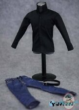 1/6 Scale Accessories Black Shirt Fashion Set ZY-7025 by ZY Toys