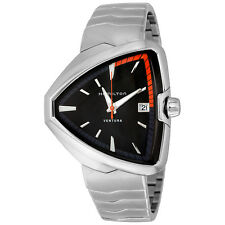 Hamilton Ventura Elvis80 Black Dial Mens Watch H24551131