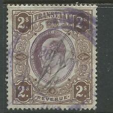 Transvaal George V Revenue Stamp Duty 2s Used