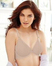CLEARANCE!! Bali Comfort Back Smoothing Front Close Bra - Style 3P66 - Nude 40DD