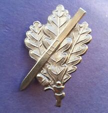 GERMAN SKY JAGER OAK LEAVES CAP BADGE