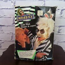 Kenner Beetlejuice Snake Mask with box 1989