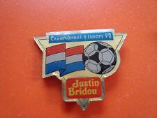 pin pins sport foot soccer euro 92 justin bridou