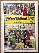 Principe Valiant Nerbini La Battaglia e la Pace Tavole 1125/1141