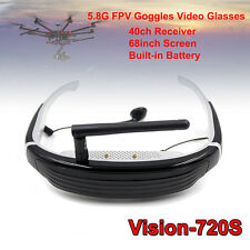 "5.8G 40CH 68""  VR HD FPV Goggles Video Glasses for Walkera 250 RC Drone HOT"