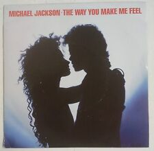 "Michael Jackson The Way You Make Me Feel Single 7"" UK 1987"