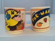 Vintage Deka Pacman Cup set of Two
