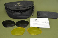 Revision Bullet Ant Tactical Goggle - Replacement Lens Only - Smoke Yellow (3)