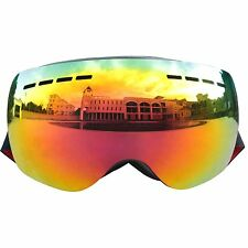 FGN Snow Ski Goggles, Men & Women, UV400 Protection, Anti-Fog, Scratch-Resistant