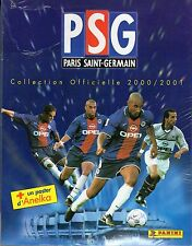 [ALP] ALBUM FIGURINE PARIS SAINT GERMAIN 2000/2001 - COMPLETO