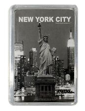 NEW YORK STATUE OF LIBERTY & SKYLINE COLLECTIBLE SOUVENIR PLAYING CARDS