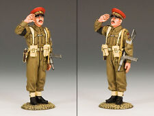 KING & COUNTRY D DAY DD155 SALUTING BRITISH REDCAP M.P. MIB