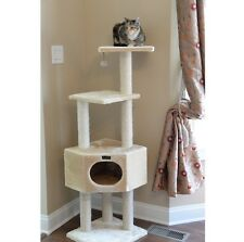 NEW Cat Tree Furniture Condo Scratcher House Tower Bed Scratching Post Pole Toys