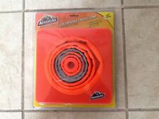 """TRAFFIC CONE COLLAPSIBLE 16"""" HIGH COLLAPSES TO 1.5"""" LOT OF 4"""