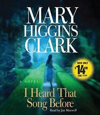 I Heard That Song Before by Mary Higgins Clark (2009, CD, Abridged) Audio CD