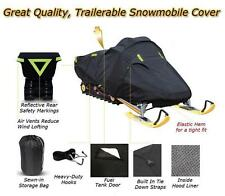 Trailerable Sled Snowmobile Cover Arctic Cat Prowler 2 up 1995 1996 1997