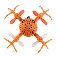 4ch 6 ejes Mini Araña quadricóptero RC helicóptero Drone Juguete Regalo Con Luz Naranja