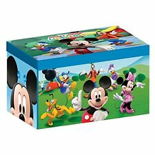 Disney Mickey Mouse Collapsible Fabric Toy Box Toy Game Kids Play Gift Christma