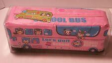 Happy School Bus Pencil Case Kawaii Stationery Pencil Bag