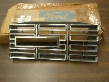 NOS OEM Ford 1968 Galaxie 500 XL LTD Headlight Door Grille Trim