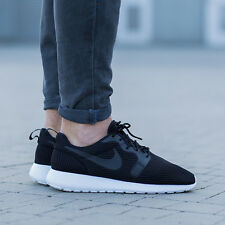 NIKE ROSHE ONE HYP BR Hyperfuse Breeze Trainers Gym Casual - UK 7 (EUR 41) Black