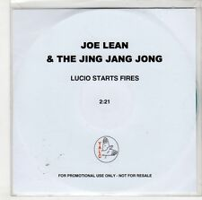 (GS105) Joe Lean & The Jing Jang Jong, Lucio Starts Fires - DJ CD