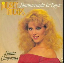 AUDREY LANDERS 45 TOURS GERMANY SANTA CALIFORNIA