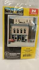 DPM Structure N Scale Building Kit Char's Soda Shoppe Shop #50400 Model Trains