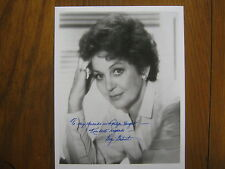 "GOGI GRANT(Died 3/10/16)(""The Wayward Wind"") Signed 8  X 10 Glossy B & W Photo"
