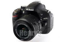 NIKON D5200 24.1 MP DSLR CAMERA BODY/18-55MM VR II LENS/8GB SDHC/REFURBISHED