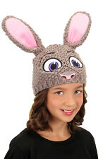 DISNEY ZOOTOPIA Judy Hopps Knit Character Hat EASTER COSTUME BEANIE NEW