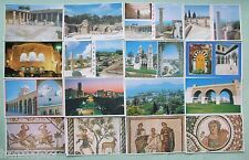 Postcards  (Lot of 16) - TUNISIA - CARTHAGE - TUNIS  CATHEDRAL - MOSQUE ZITOUNA