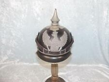 1916 Dated WW1 M1915 German Prussian Jaeger Zu Pferde Steel Pickelhaube