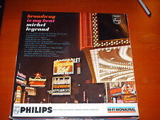Michel Legrand-Broadway Is My Beat-LP-Philips-PHM 200 000-Vinyl Record