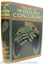 ART MODERN CONJURING Magician MENTAL Tricks ILLUSTRATED Plates VINTAGE Rare CARD