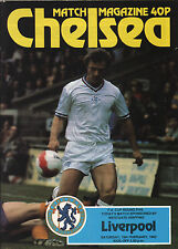 1981/82 Chelsea v Liverpool, FA Cup, PERFECT CONDITION