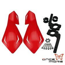 "7/8"" Inch Hand Guards Motocross Dirt Bike Red For Honda CRF250R/450R XR250"