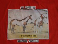 Vintage Nashville, Tennessee The American Paint Horse 1983 Convention T Shirt M