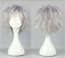 Final Fantasy Hope Estheim Short Anime Cosplay Costume Wig Free Ship +CAP