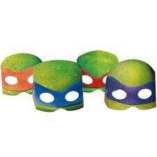 Teenage Mutant Ninja Turtles Birthday party Masks 8pc - Party Favors