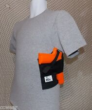CONCEALED CARRY HOLSTER SHIRT with a built-in SHOULDER HOLSTER GRAY sizes S- XL
