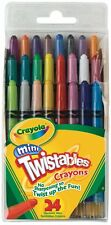 Crayola Mini Twistables Crayons, 24 Ct (Pack of 12)