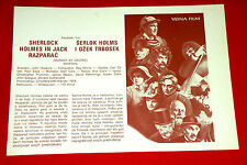 MURDER BY DECREE 1979 SHERLOCK HOLMES PLUMMER MASON EXYU MOVIE PROGRAM