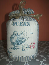 New Waterside Cottage Seagull Doorstopper Nautical/Coastal/Beachy Theme Decor
