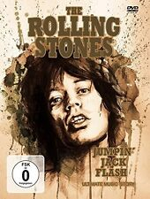 THE ROLLING STONES - JUMPIN'JACK FLASH  DVD NEU