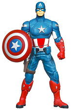 MARVEL AVENGERS MOVIE MIGHTY BATTLERS SHIELD SPIN CAPTAIN AMERICA ACTION FIGURE