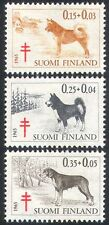 Finland 1965 Dogs/Tuberculosis Fund/Medical/Health/Animals 3v set (n18705)